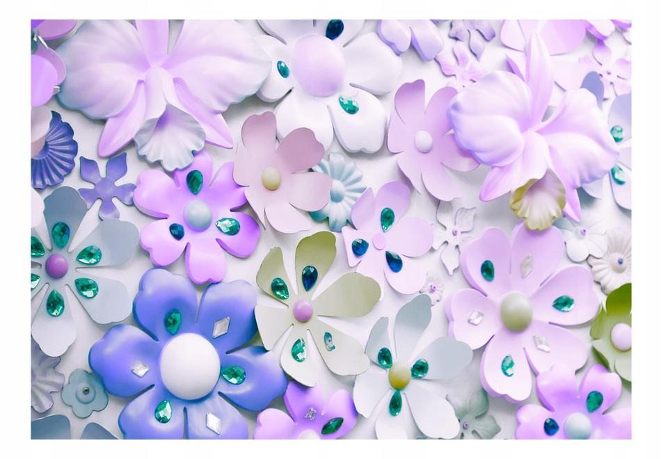 3D Fototapetas gėlių žiedai