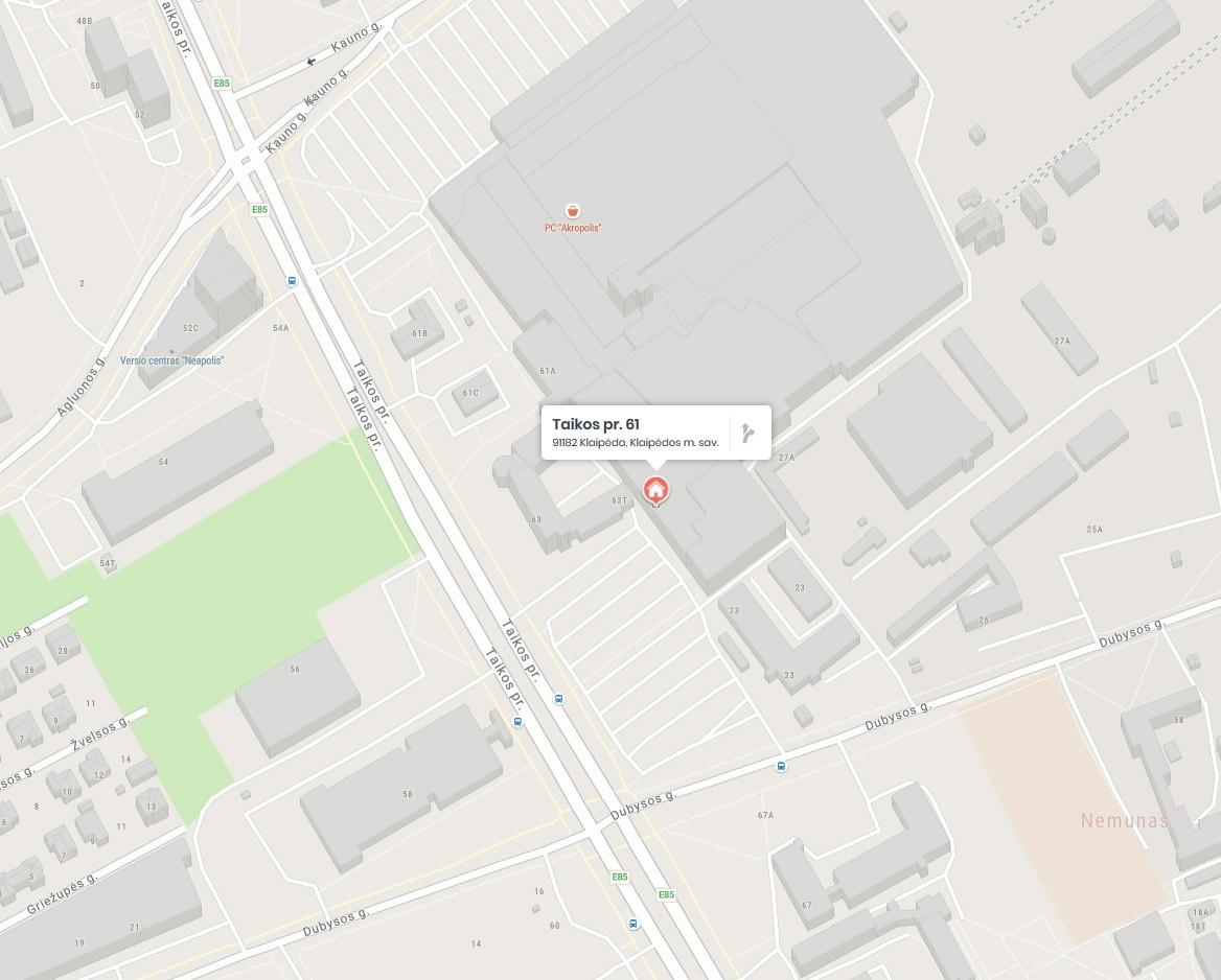 Fotocentras (Rėminimas Klaipėdos Akropolyje) adresu taikos pr. 61 (žemėlapis)