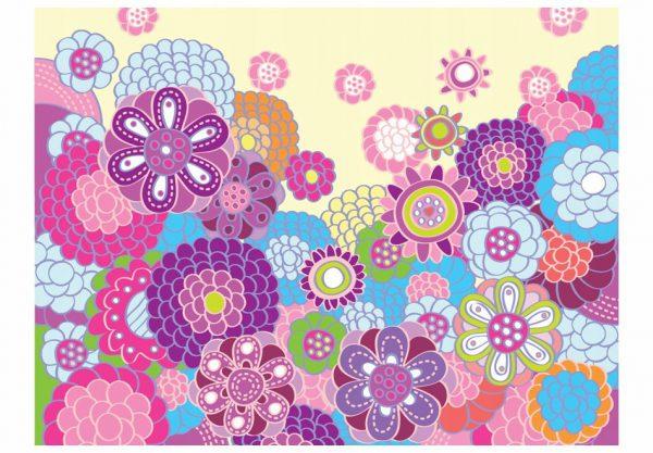Fototapetas: violetiniai gėlių žiedai