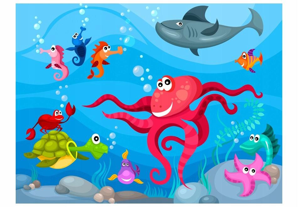 Fototapetas jūros dugne
