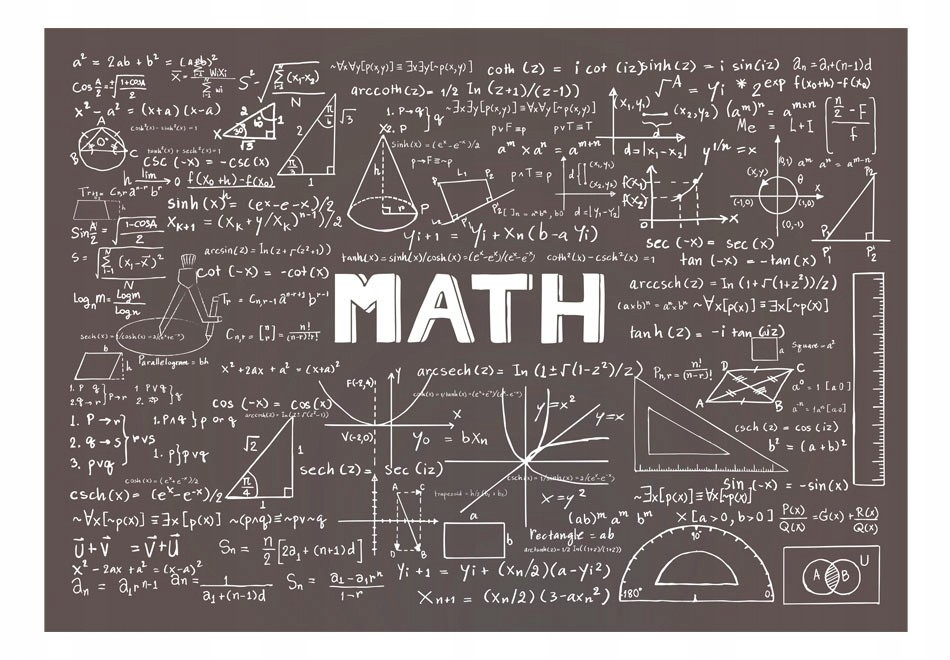 """Fototapetas """"Matematika"""""""