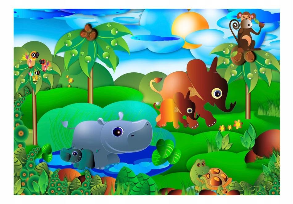 Fototapetas su afrikos džiunglėmis