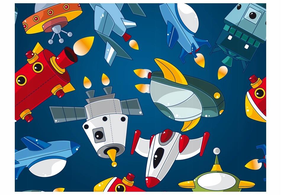 Fototapetas su kosmosu (erdvėlaiviai)