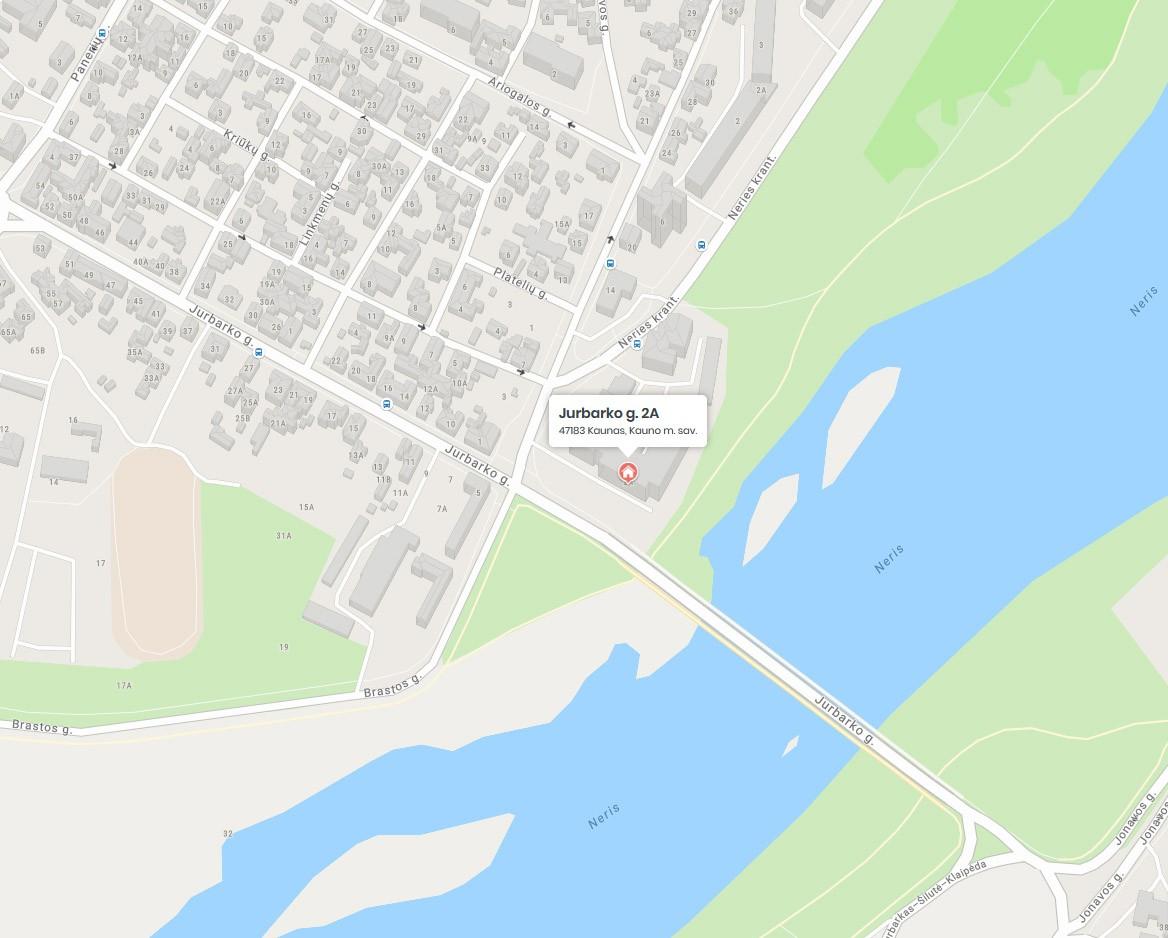 FOTOPRO Paveikslų rėminimas Kaune (žemėlapis)