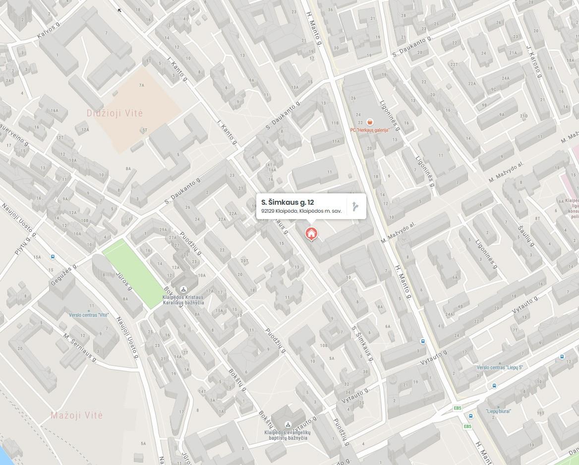 Rėminimas UAB Taigra, Klaipėdoje (žemėlapis)